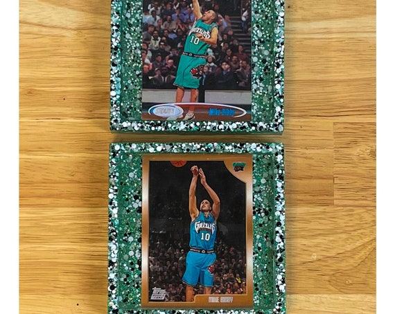 Mike Bibby (Rookie Year) Memphis Grizzlies Coasters
