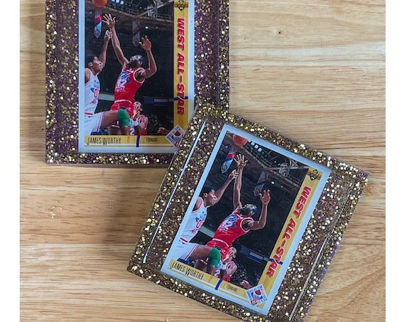 James Worthy All Star Game Coasters