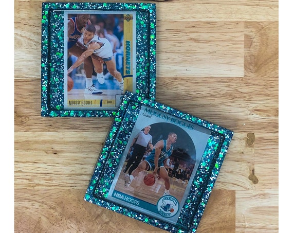 Muggsy Bogues Charlotte Hornets Coasters