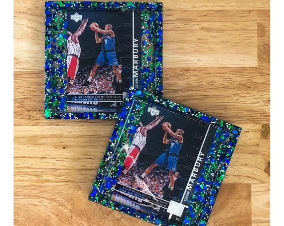 Stephon Marbury Minnesota Timberwolves Coasters