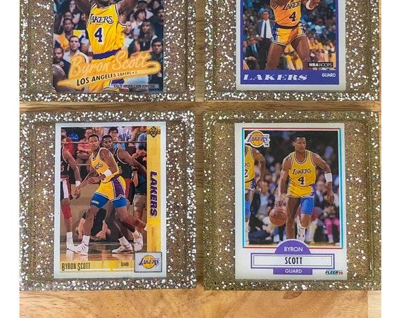 Byron Scott Los Angeles Lakers Coasters
