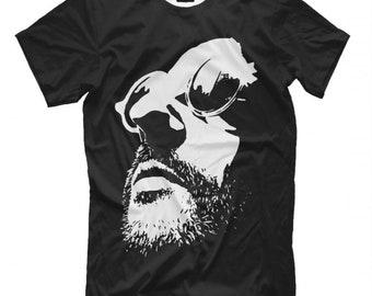 Leon Graphic T-Shirt Jean Reno Tee Men/'s Women/'s All Sizes