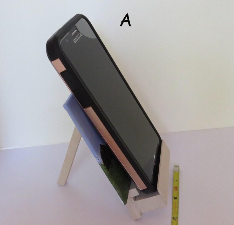 Office Mini Art Desk Decor Primitive Decor, Rustic Decor Photo Print Desk Accessories Mini Canvas Canvas with Easel Phone stand