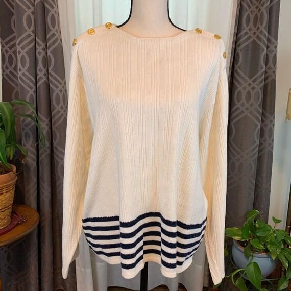 Vintage Plus sized Sweater, Vintage preppy sweater