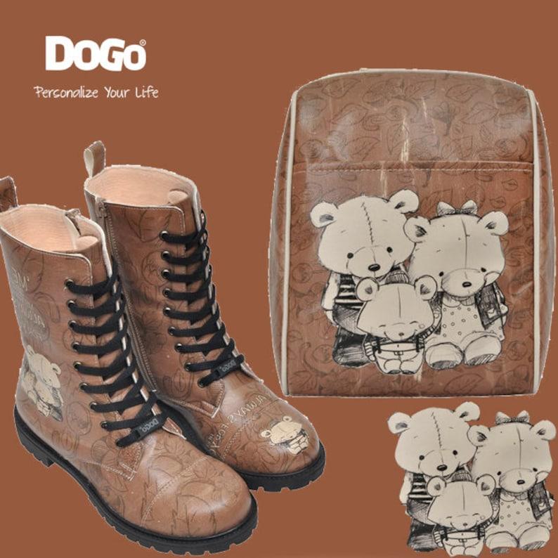 Handmade by Best Turkish manufacturer. DOGO Here For You Small Bag Mini Backpack Vegan Light Backpack