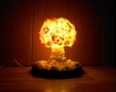 LED Nuclear Explosion NighlLight/Lamp || Nuclear cloud || Mushroom cloud || Nuke Lamp [UPDATED]