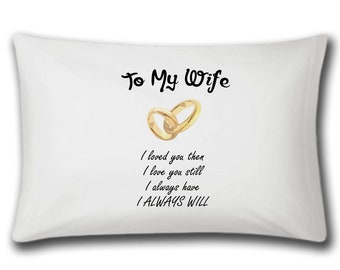 To my wife pillow | Etsy