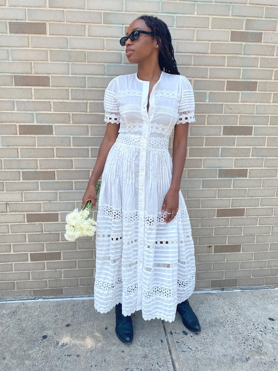Waimari Cotton Dress - image 1