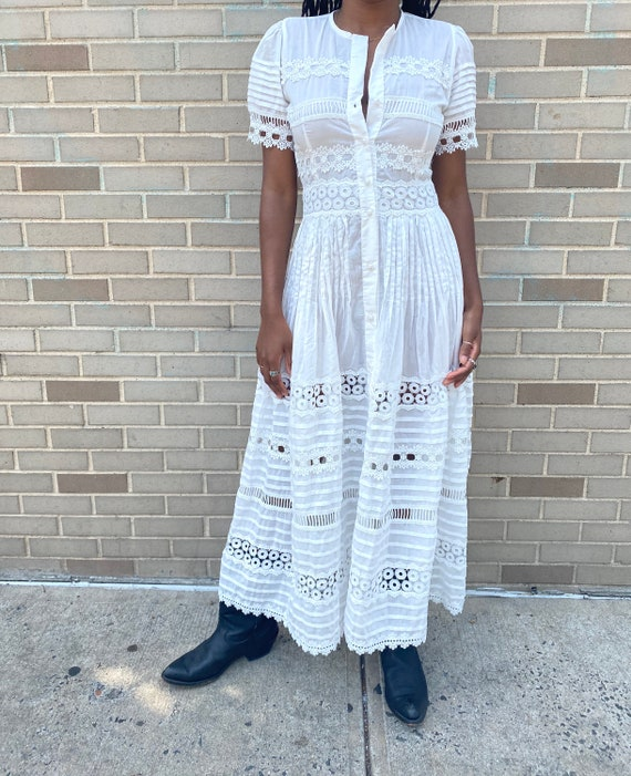 Waimari Cotton Dress - image 2