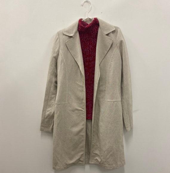 Vintage Linen Coat