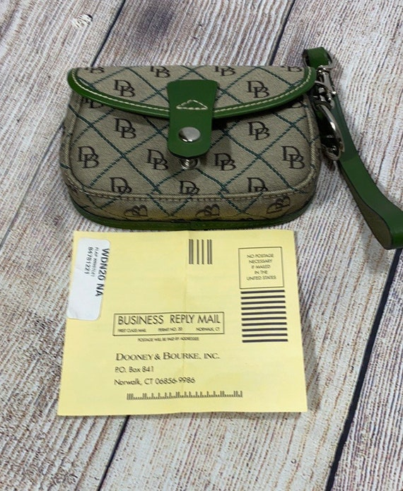 Vintage Dooney & Bourke Wristlet New