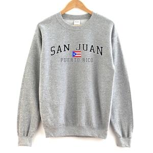 Made in Puerto Rico Hoody Men S M L XL 2x Spanish Borinquen San Juan Sweatshirt Bayamon Hecho En Puerto Rico Hoodie