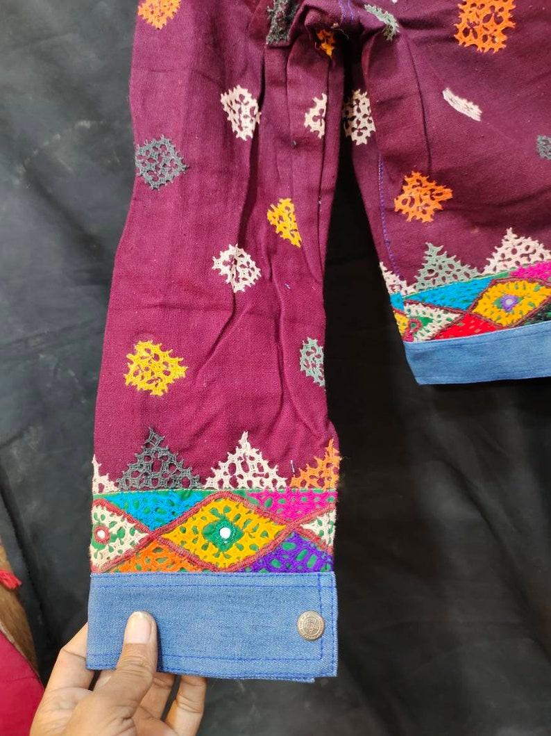 Vintage gypsy denim jacket