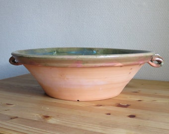 french style bowl ,rustic ,