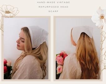 Cottagecore vintage head scarf