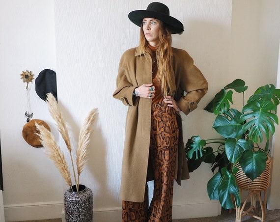 Vintage camel coat/vintage coat/vintage St Michael