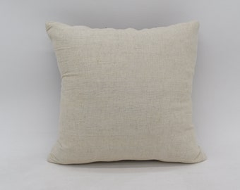 "Pillow Cushion 100/% Wool Cover Anti-allergic 16x16/"" Decorative Bed Couch Sofa EL"