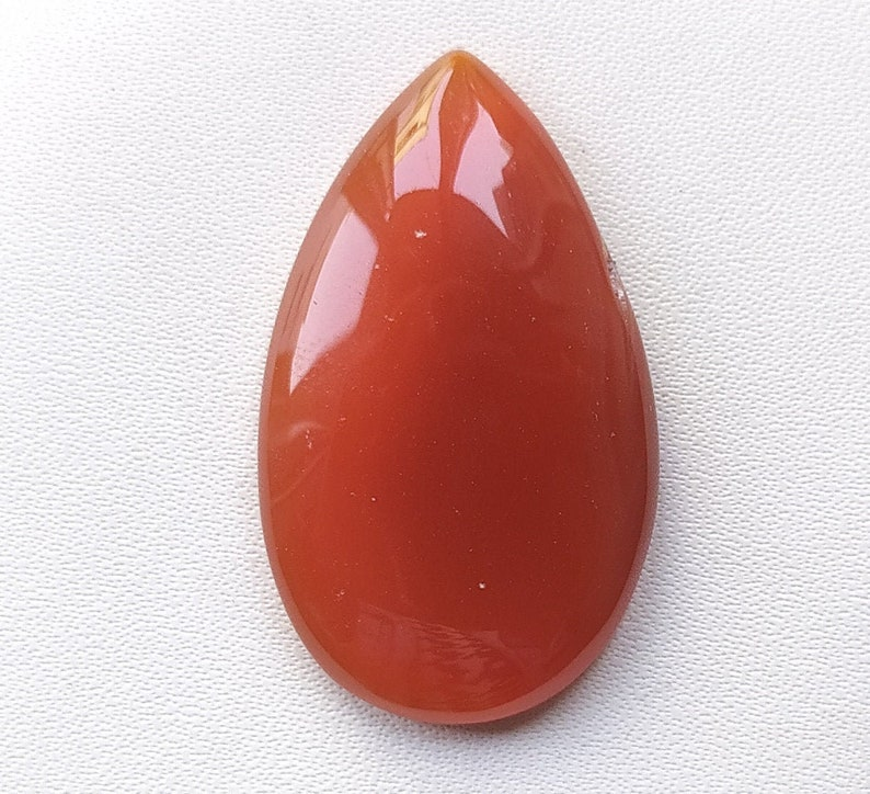 Natural banded red Onyx agate pear shape for jewelry cabochons stone loose gemstone top quality handmade gemstone jewelry 35x20x6m 34.cts