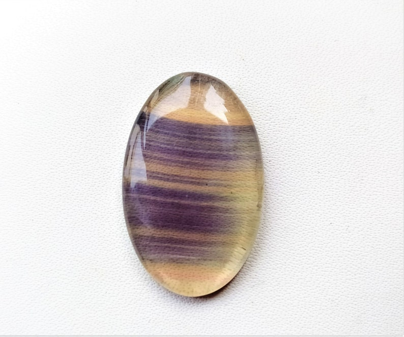 Natural Flourite oval shape  for jewelry cabochons stone loose gemstone top quality handmade gemstone jewelry 23x17x5m 25.cts