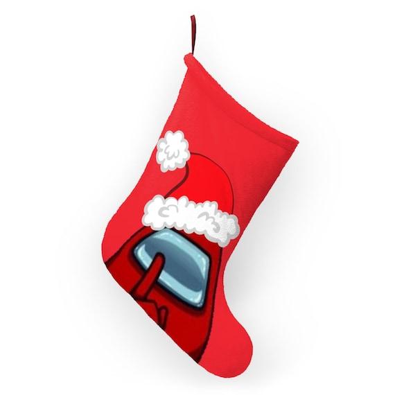 Among Us Shhhh Christmas Stockings One Size Cartoon Among Us Etsy Check out among us guide on how to get christmas skins (hats). among us shhhh christmas stockings one size cartoon among us present for christmas holiday and good for coals