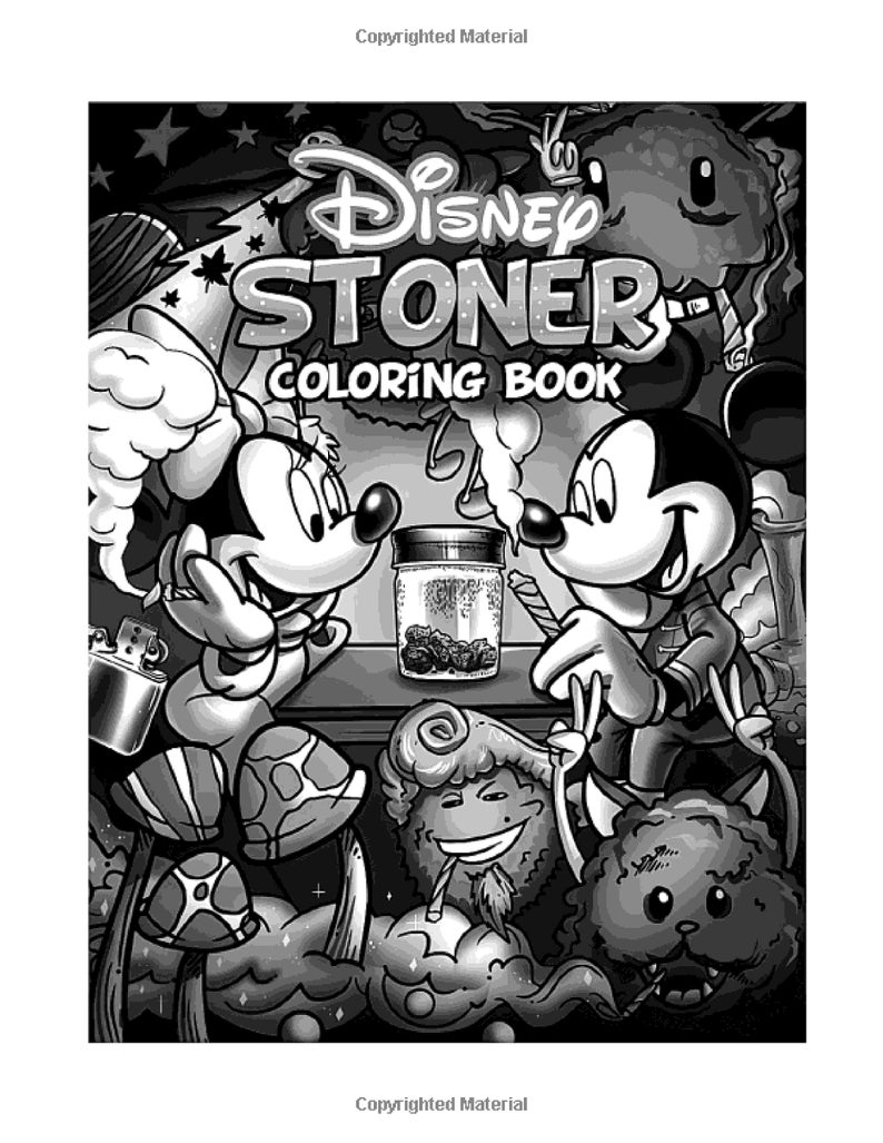 Stoner Coloring Book: Creative Coloring Books For Adults ...