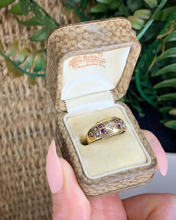 Victorian Gold Gypsy Ring