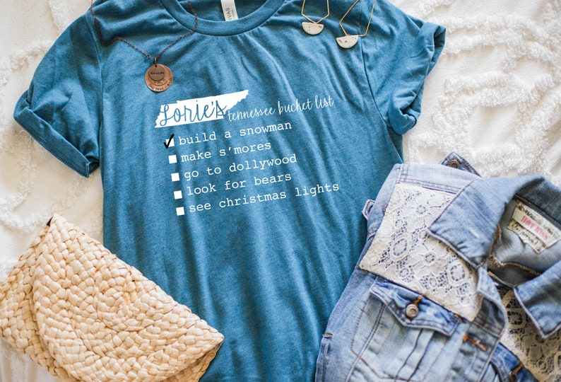 Create Your Own Traveling Bucket List Custom T-Shirt image 0