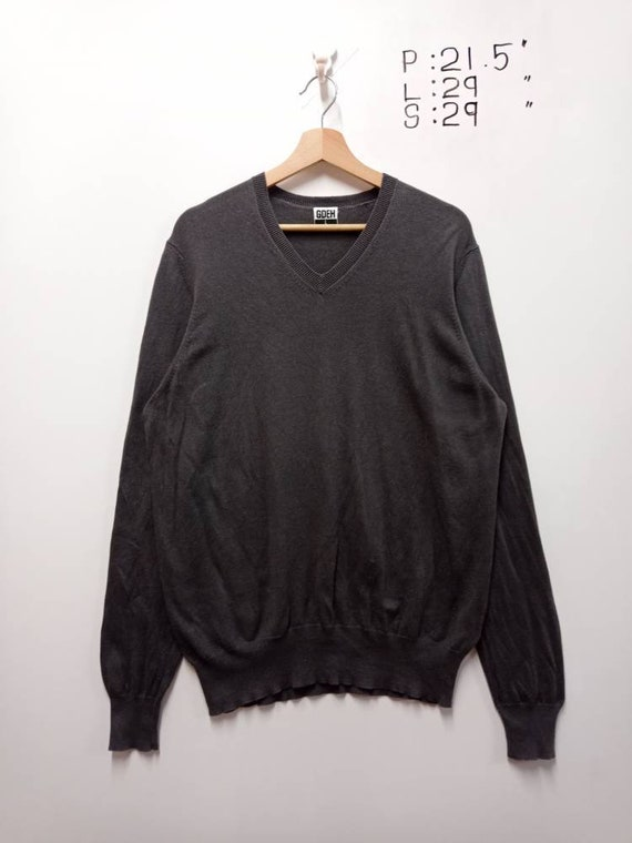 Vintage Goodenough Japan Plain Minimalist Wool Kni