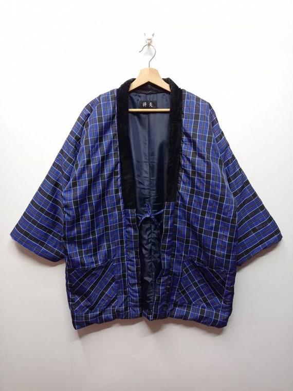 Vintage Padded Yukata - Rare Yukata - Noragi Jacke