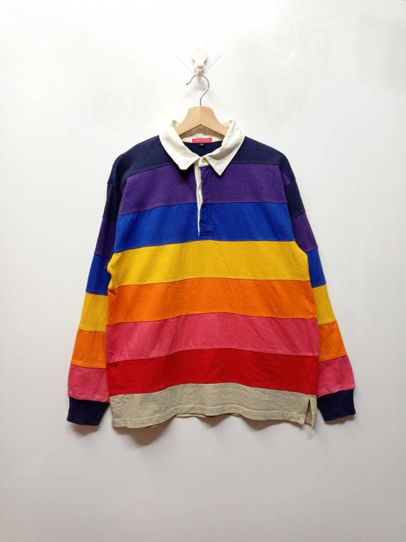 Vintage Aeropostale Stripes Rugby shirts Graphic s
