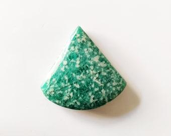 1 Piece Natural Amazonite Cabochon 45x30mm 91Cts Gemstone I Genuine Amazonite Healing Gemstone I Amazonite Rock Gemstone