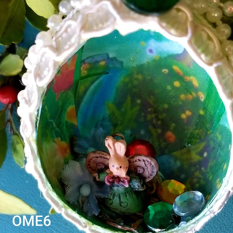 Easter Egg OrnamentBunny OrnamentHappy Easter OrnamentGreen Frog  OrnamentPearly Egg OrnamentBunny with Wings Egg ornament Blossom Egg