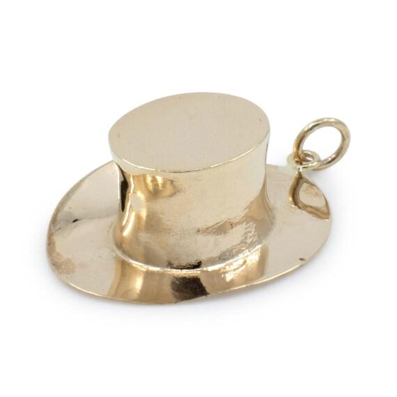 Antique 9ct Gold Hat Charm