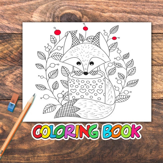 30 Fall Season Coloring Pages For Kids Best gift for girls