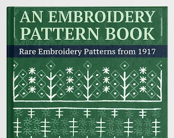Rico Design Punch Needle Embroidery Book Punch Needle Embroidery Pattern Book Embroidery for beginners