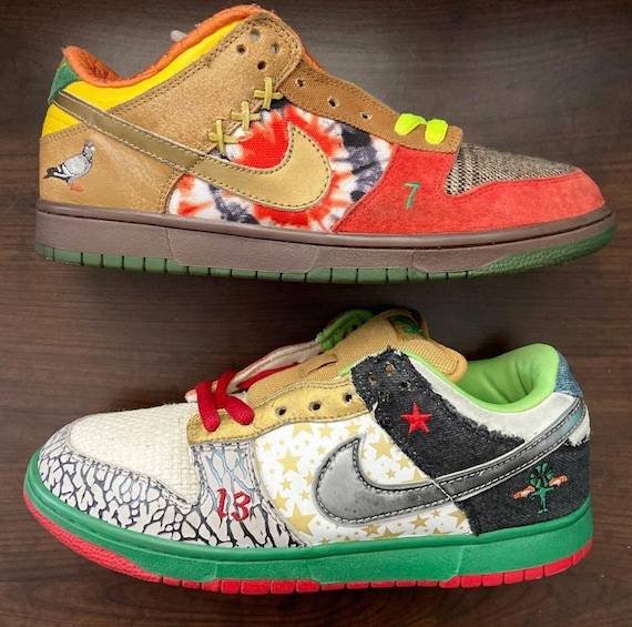 """Nike SB """"What The Dunk"""" Low *RARE* (2006)"""
