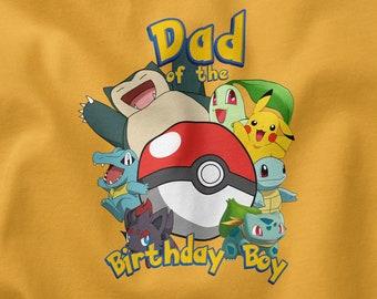 iron on transfer Pokemon t-shirt sister of birthday day Printable Pokemon birthday Pokemon party Pokemon tshirt