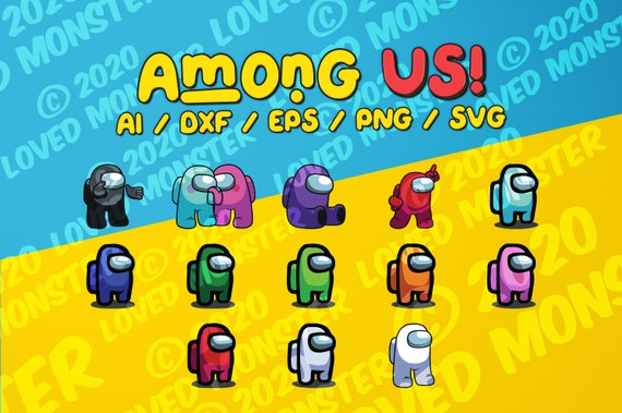 Among Us Svg Png Ai Dxf Eps Clipart Etsy Download transparent hand png for free on pngkey.com. etsy