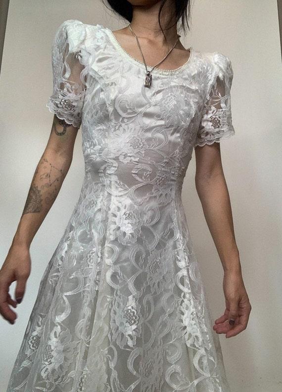 Vintage 70's Jessica McClintok Gunne Sax Dress - image 5