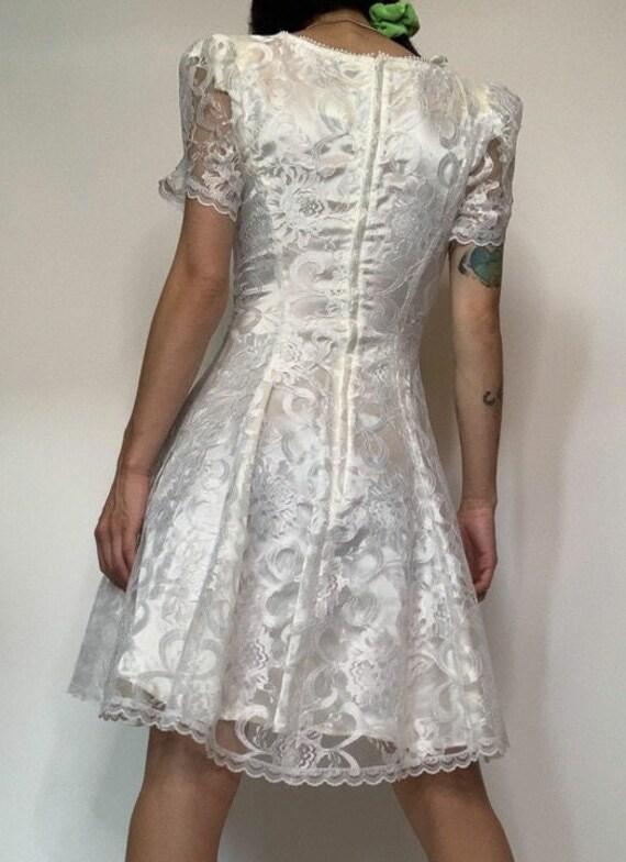 Vintage 70's Jessica McClintok Gunne Sax Dress - image 6