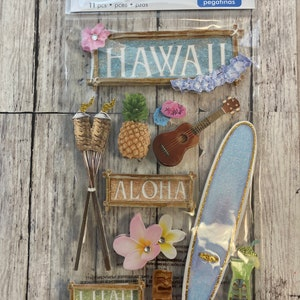 Paper House Production Hawaii 3D Stickers
