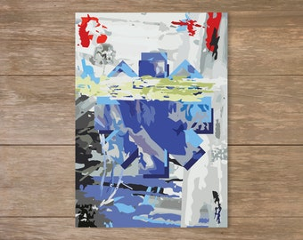 Digital Print at home - Red Hot Chili Peppers Poster, By The Way, Abstract, Chilis Poster,