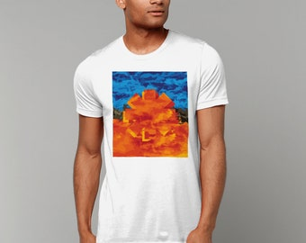 Red Hot Chili Peppers Cotton T-shirt, Californication, Unisex, Abstract, Crew Neck, Chilis Tee