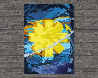 Digital Print at home - Red Hot Chili Peppers Poster, Stadium Arcadium, Abstract, Chilis Poster,
