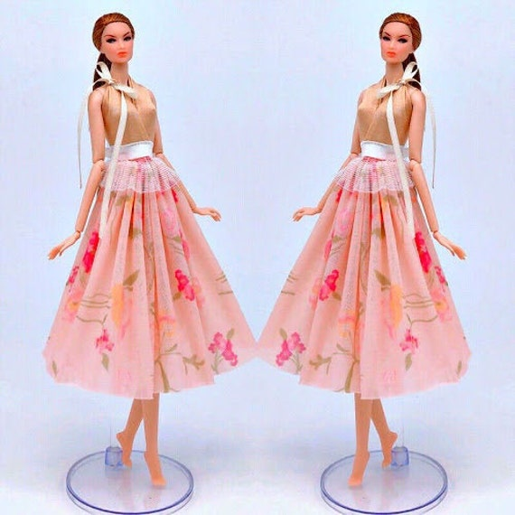 Handmade For Barbie Dress For Barbie Clothes Fits Barbie Doll For Barbie Gown
