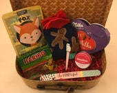 Pamper Box, Retro Rattan Suitcase, Hamper,Girls Night In, Treat Yourself, Gift for Her, Woman 39 s Gift, Christmas Present