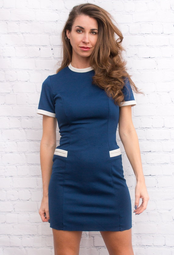 Royal Blue Pan Am Dress