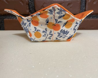pot holder Soup Bowl Quilted Iowa State Cyclones Plate Cozy Ice Cream Bowl Microwave bowl cozy