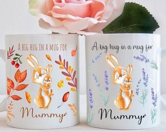 A big hug in a mug for Mummy mug, Mummy mug, Hug mug, Hug in a mug mug, Mummy gift, Birthday gift, Christmas gift, Gift for Mummy, Mum gift