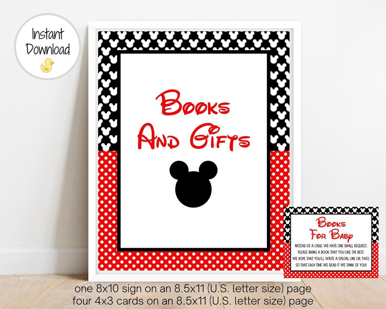 Baby Shower Game Books For Baby Baby Shower Instant Download Mouse Baby Shower Printable Baby Shower Game Baby Books MM1